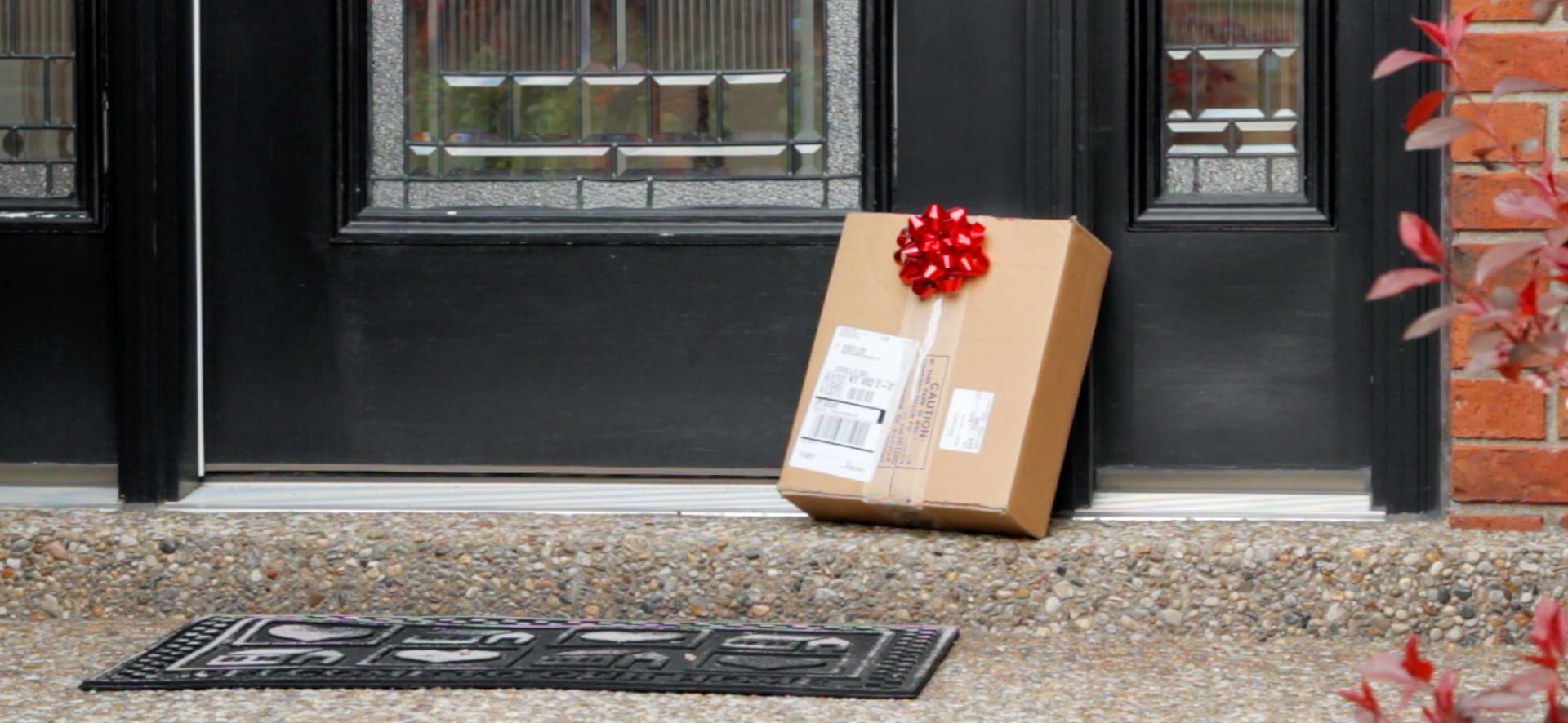 Package+at+Door